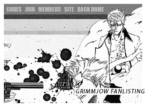 Grimmjow Jaegerjaques / Bleach Fanlisting