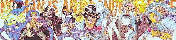 One Piece 20. Jubiläums Color Spread