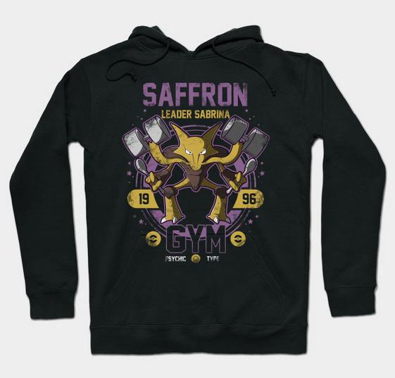 Saffron Gym by Teepublic