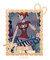 Charakter Set NAMI Stamp 1 von Kawaii Ribbon